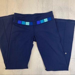 Lululemon Groove Pants - navy reversible